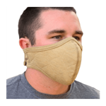 PGI BarriAire Gold Face Mask W/ Velcro Strap
