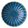 "Kiku 6.5"" Shallow Bowl - Blue"