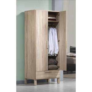 98090 ODELLA LIGHT OAK WARDROBE