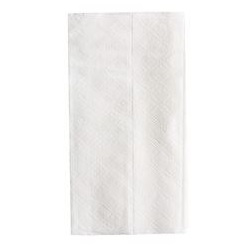 "7.5 X 13.5"" 1 PLY WHITE TALL DISPENSER NAPKIN, 10,000/CS"