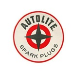 "6.5"" Autolite Spark Plug Decal"