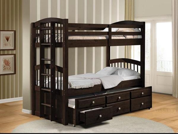 Acme Furniture 40000 Kit Esp T T Bunkbed Amp Trund