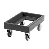"Cambro 14"" x 22"" Black Camdolly"