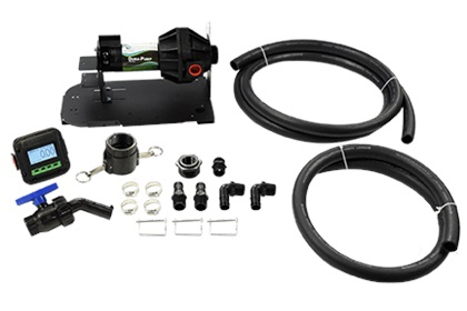 Dura-Pump™ Easy Caddy Tank Pumping System | 12v or 110v Options | Optional Meter | Viton Seals
