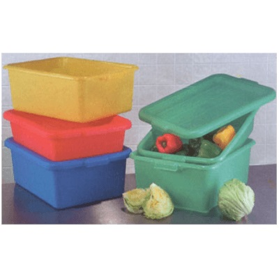 "Vollrath 1507-C04 Traex Color Mate Food Storage Box Combo Set 7"" Storage Box"