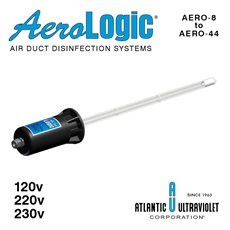 AeroLogic® UV Air Duct Disinfection Models - One Lamp AERO