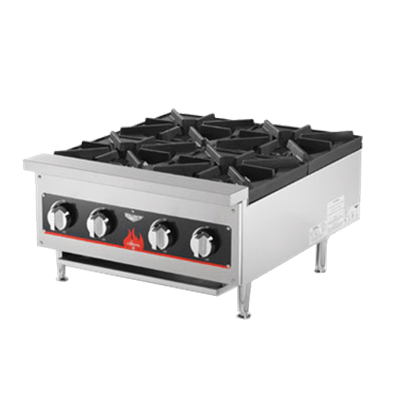 Vollrath 4-Burner Counter Top Gas Hot Plate