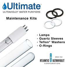 Ultimate® UV Water Purifier Maintenance Kits