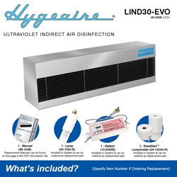 Hygeaire LIND30-EVO Model What's Included