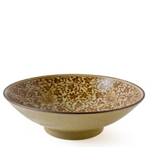 "Sepia Karakusa 9.75"" Serving Bowl"
