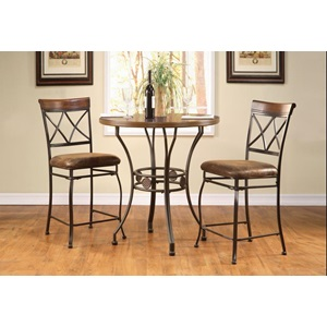 Acme Furniture 96068kit Tavio Counter H Table 36dx36h