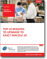 10 reasons to upgrade to Macola White Paper