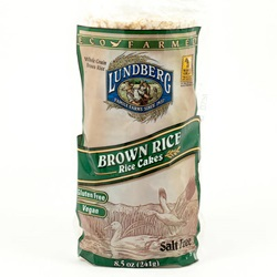 Rice Cakes, No Salt - 8.5oz (Case of 12)