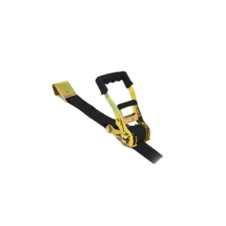 "2"" X 27' Heavy Duty Ratchet Strap with Flat Hook"