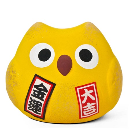 FENG SHUI OWL - YELLOW