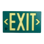 Lume-A-Lite 100' Exit Sign