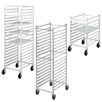 Channel Knock-Down Medium-Duty Bun Pan Rack