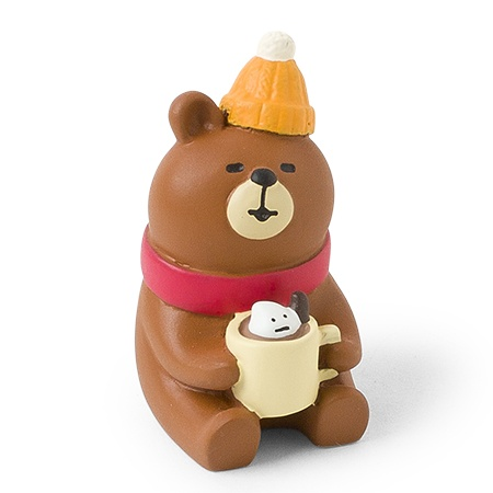Figurine Hot Chocolate Bear