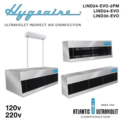 Hygeaire UV Indirect Air Disinfection Units