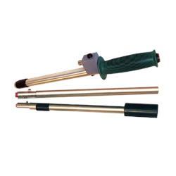 Collapsible Green-handled/Push-button Probe