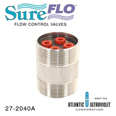 "Flow Control: 40 GPM 2"" NPT Stainless Steel"