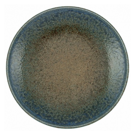 Blue Sand Crackle Dinner Plate 10-1/4""