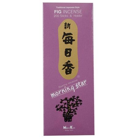 Morning Star Incense - Fig