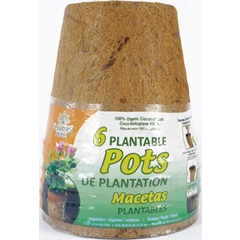 Biodegradable Round Coconut Coir Pots