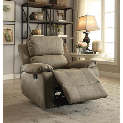 59527 TAUPE RECLINER