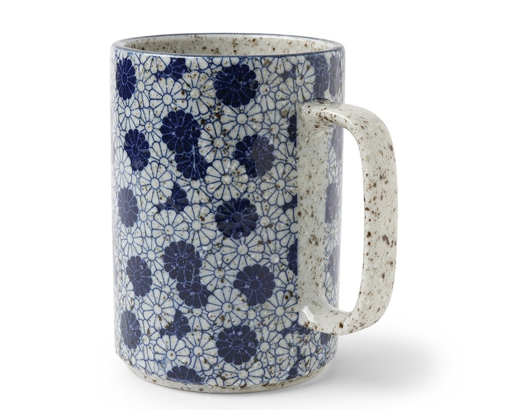Mug Blue Kikuzu 16 oz.