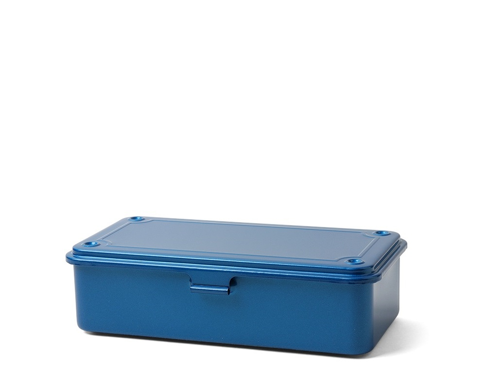 Toyo Steel Toolbox Small Bllue