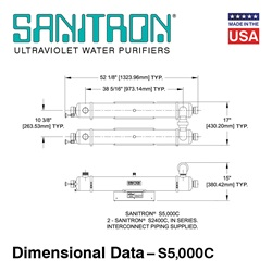 Sanitron Dimensional Data S5,000C