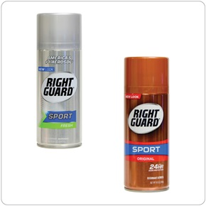 Right Guard Sport Deodorant Aerosol