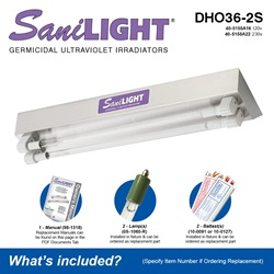 SaniLIGHT DHO36-2S Included Accessories