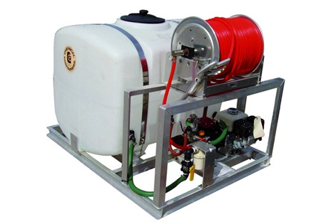 200 Gallon PCO Sprayer Skid