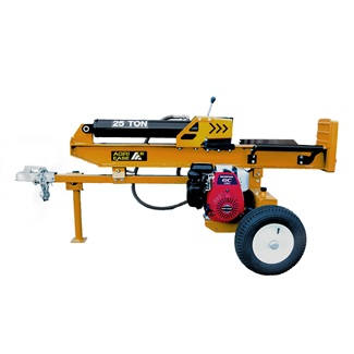 25 Ton Honda GC160 Log Splitter