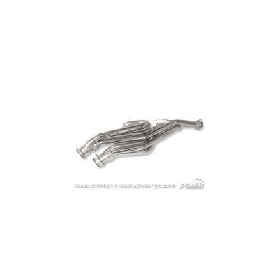 High Performance 6 Cylinder Header - Dual outlet, nickel plated, fits 170,  200