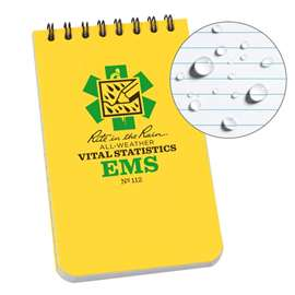 EMS Vital Stats Notebook