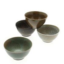 Bowl Set Pacific Forest Matte 4-5/8""