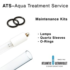 Aqua Treatment Services UV Water Purifier Equivalent Replacement Maintenance Kits