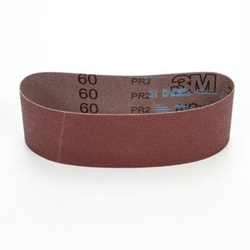 27498 3M 340D 3 X 21 CLOTH BELT, 60X GRIT,