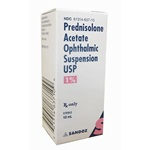Prednisolone Acetate Drops 1%, 10mL
