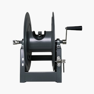 Heavy Duty A-Frame Mount Hose Reel With Hand Crank