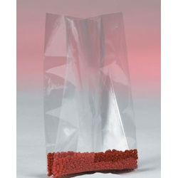 "36 X 32 X 48"" 4 MIL CLEAR GUSSETED POLY BAGS, 50/CS"