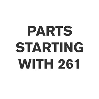 Parts Starting With 261
