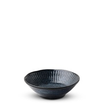 "Blue Namako Tokusa 4.5"" Shallow Bowl"