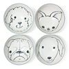 "Dog Days 4.5"" Rice Bowl Set"