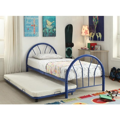 30450T-BU TWIN METAL BED