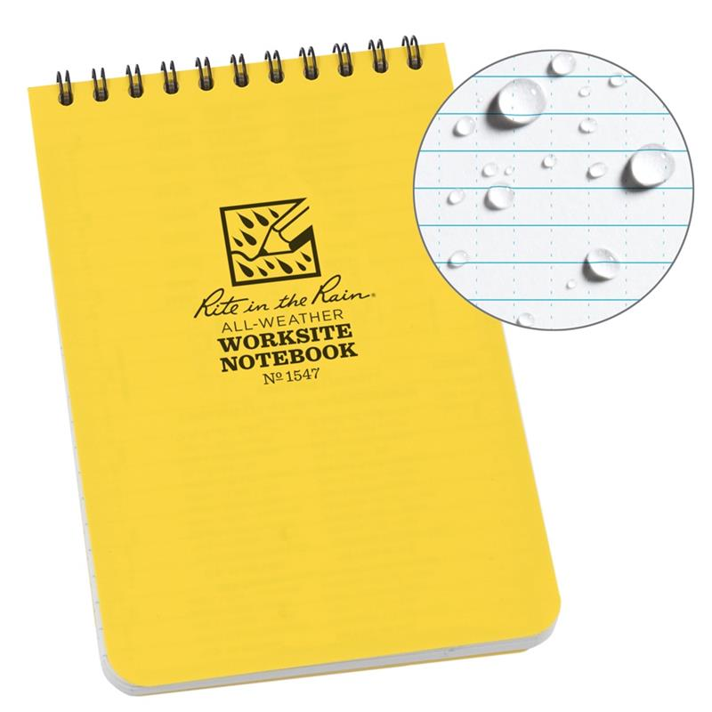 Top Spiral Worksite Notebook