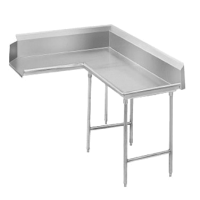 Advance Tabco DTC-K30-72R Korner Clean Dishtable L-Shaped